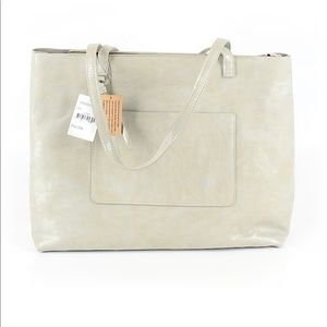 Street Level | Faux Leather Tote New